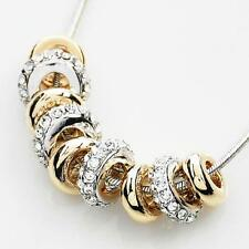 Fashion Crystal Chunky Bib Statement Pendant Chain Necklace Christmas Gift New