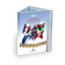 The Royal Mint Great British Coin Hunt £1 Album- CA1P15