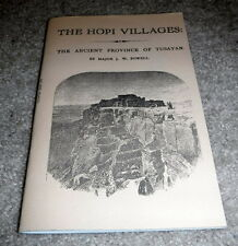 The Hopi Villages : The Ancient Province Of Tusayan - box 29
