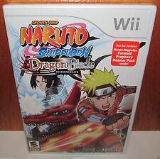 BRAND NEW SEALED Naruto Shippuden: Dragon Blade Chronicles Nintendo Wii