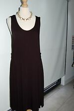 Miss Via Black Dress Size 42 BNWT RRP £49 STUNNING DRESS