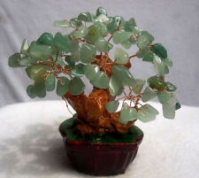 230g Lucky Tree!!! Natural Pretty Aventurine Crystal Gem Tree/Wholesale J03