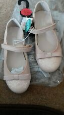 girls pink ballerina party sparkly shoes size 12 brand new exchain-store.
