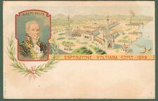 ESPOSIZIONE VOLTIANA. COMO 1899. Cartolina d'epoca non viaggiata.