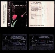 A FLOCK OF SEAGULLS - The Story Of A Young Heart - SPAIN CASSETTE Jive 1984