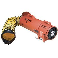 "Allegro 8"" AC COM-PAX-IAL Manhole Ventilation Blower w/ 25' Duct 9533-25"