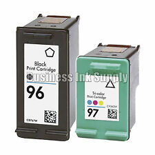 2 PK REMANUFACTURED HP 96 97 ink cartridge HP96 HP97 96 97 High Capacity