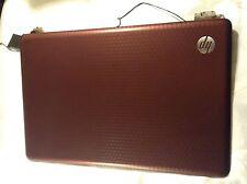 Bisagras de Cubierta superior de la tapa de Compaq G62 Rojo