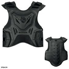 Icon Field Armor Stryker Vest Stealth Sportbike Stunt Chest Back Protection S-M