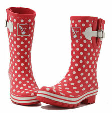 Ladies Evercreatures Multi Patterned Short Wellies Wellington Boots - UK 3 - 8