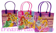 12 PC DISNEY PRINCESS GOODIE BAGS PARTY FAVORS CANDY LOOT TREAT BIRTHDAY BAG NEW