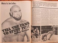 July-1977 Inside Wrestling(JOE  LEDUC/GEORGE  STEELE/JOSE  LOTHARIO/DUSTY RHODES
