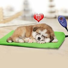 IB-SOUND Heating Pads for pets, Warming Dog Beds Pet Mat with Chew Resistant