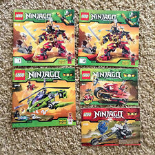 5 Ninjago Lego Spinjitzu Manuals 9448 (1&2) 9443 9441 2259 Instruction ONLY #4