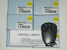 GENUINE 2 x PRASTEL, 2 button remote, MPSTP2E, NEW. (twin pack) ''FREE UK POST''