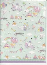 Sanrio Cinnamoroll Stars File Folder Portfolio Side Open 2 Sizes Set