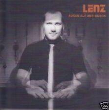 LENZ Augen auf und durch Hollogramm Cover CD NEU !!!