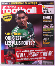 FRANCE FOOTBALL 21/9/2010; Saint-Etienne/ Henry/ Houllier/ PSG/ Lille/ Ligue 2