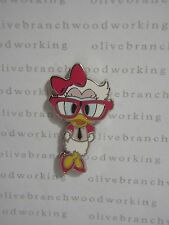 2010 Disney Nerds Rock! DAISY DUCK w/ Big Glasses Necktie Booster Collection Pin