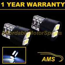 2X W5W T10 501 CANBUS ERROR FREE WHITE 4 LED NUMBER PLATE LIGHT BULBS NP102002