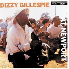 At Newport Dizzy Gillespie VERY GOOD- NEW CASE PROVIDED
