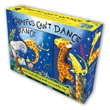 Giles Andreae Giraffes Cant Dance Book and Soft Cuddly Toy Animal Boxed New