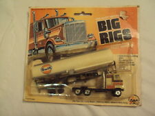 ZEE TOYS  DIE-CAST METAL HO SCALE MODEL BIG RIGS GULF OIL GAS TRUCK , 1981 NOS