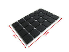 48pcs Furniture Scratch Protectors Self Adhesive Rubberized Foam Pads Square