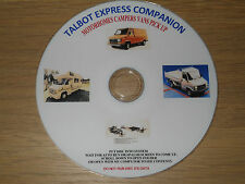 TALBOT EXPRESS COMPANION SERVICE REPAIR RESTORING  GUIDES  MANUAL TUTORIALS