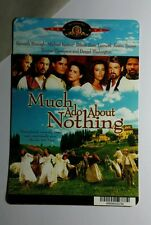 MUCH ADO ABOUT NOTHING BRANAGH KEATON MINI POSTER BACKER CARD (NOT a movie )