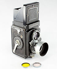 Rollei Rolleiflex MX-EVS, #1726791, Xenar 3.5/75mm, Type 2 with accessories