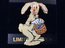 DLR Happy Easter 2001  Goofy in bunny suit Disney Pin LE