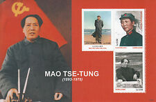 Sierra Leone 2012 MNH Mao Tse-Tung Zedong 3v M/S World Leaders Stamps