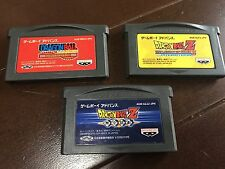 a lot of Dragon Ball Game Boy Advance GBA Japan