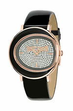 WOMEN'S JUST CAVALLI BLACK LAC WATCH R7251186505 - 60% OFF RRP £140