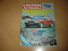 action auto N°268 R18 Turbo/Audi 80 GTE.Alfa Sprint 105