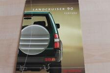 133459) Toyota Land Cruiser 90 - Zubehör - Prospekt 05/1999