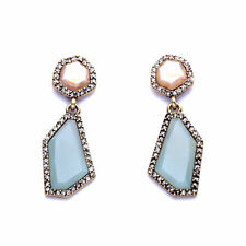 Sand Sky Stud Post Drop Morningtide Geometric Earrings