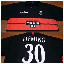 Yorkshire County Cricket Club CCC Stephen Fleming Jersey 2003 Exito England XL