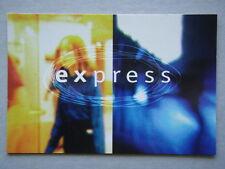 EXPRESS ABC TV ART ON THE BOX ADVERT AVANT CARD #2096 POSTCARD