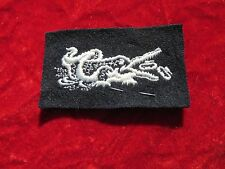 AMPHIBIOUS FORCES US NAVY RATE ALLIGATOR PATCH mark  on BLUE w/ store tag
