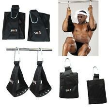 AB Straps, Slings Hooks Leg Raises Crunch Abs Straps for Hanging, SHIHAN