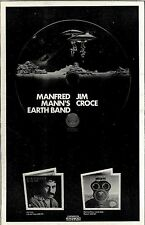 RS#137P07 ADVERT 15X10 (JIM CROCE & MANFRED MANN'S EARTH BAND ALBUMS)