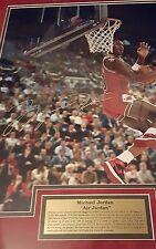 Michael Jordan signed/autographed 16x20 cradle dunk UPPER DECK COA