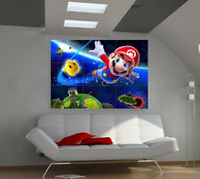 Super Mario large giant games poster print photo mural wall art ii187