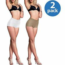 Sweet Nothings by Maidenform Everyday Control Boyshorts Briefs Small 5  -- TWO