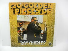 """RAY CHARLES 20 GOLDEN PIECES OF  LP   33 GIRI 12"""" VINILE"""