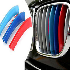 Car 3pcs M-Colored Grille Grill Insert Cover Trims For BMW X5 E70 2008-2013