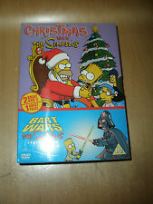 CHRISTMAS WITH THE SIMPSONS / BART WARS - 2 DVD SET - NEW AND SEALED