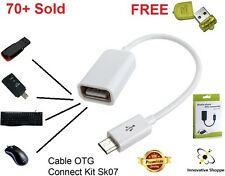 ✔ Micro USB OTG Cable Add Pendrive Card Reader Mouse Keyboard to Mobile ✔